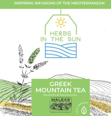 Τσάι του Βουνού Herbs in the Sun σε φακελάκι από τη Μαλέας Τρόφιμα από το 1923